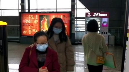 [2020.11.28]重庆轨道交通6号线 小什字-大剧院 运行与报站