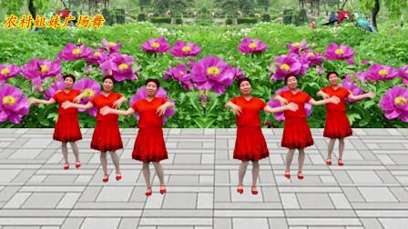 广场舞《山沟沟的姑娘》旋律优美,歌甜舞美,好听好看