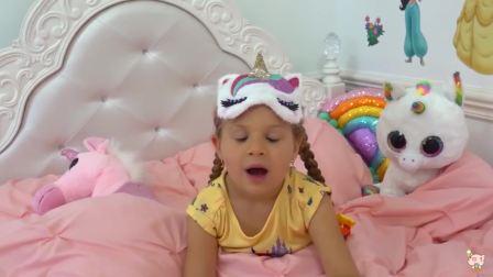 美国时尚儿童,小公主刚起来的样子,太可爱了