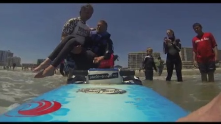 Adaptive Surf Project - YouTube