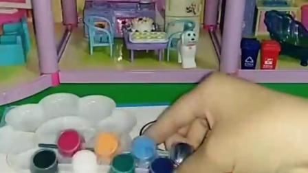 有趣益智宝宝早教:佩奇的水彩画乔治怎么样