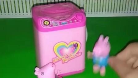 亲子有趣幼教玩具:假牙也在洗衣机里呢