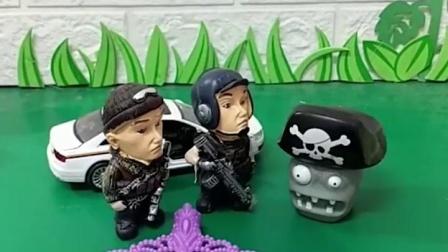 亲子有趣幼教玩具:僵尸也有被抓的一天!
