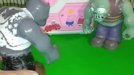 亲子有趣幼教玩具:僵尸们守株待兔抓住了好多小朋友