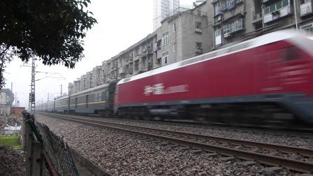 京广线:广广HXD1D牵引Z167次通过