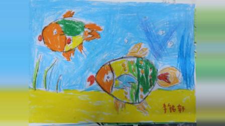 儋州市文化馆公益卡通画班期末学习作业展示