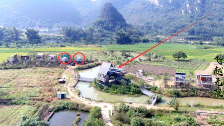 广西某地有名的网红星空泡泡屋,现实却是这样,你怎么看?
