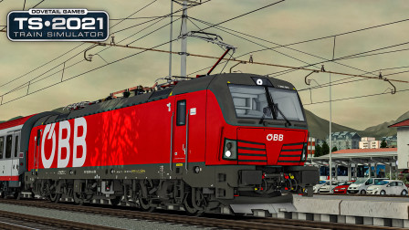 TS2021 卡拉万克斯铁路 #4:驶入斯洛文尼亚首都卢布尔雅那   Train Simulator 2021