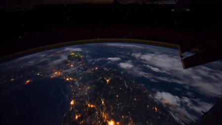 这或许是你第一次从太空看云层中的闪电