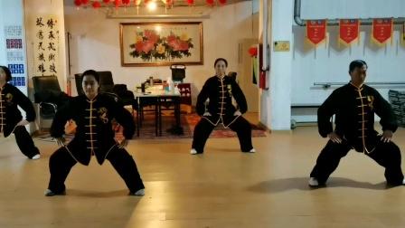 健身气功八段锦赛前训练(2020.12.6)