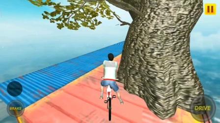 真就什么游戏都有!你甚至可以在天上踩单车