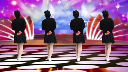 网络热歌广场舞《红唇》歌声伤感入心,舞蹈优美,好看又好学