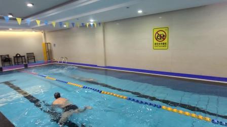 中游体育:游泳徐教慢放百分之八十的自由泳蛙泳