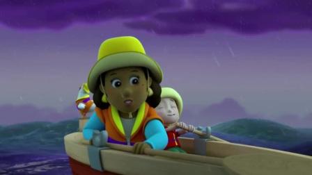 汪汪队:市长真是没谁了,在暴风雨中,你还想着偷懒