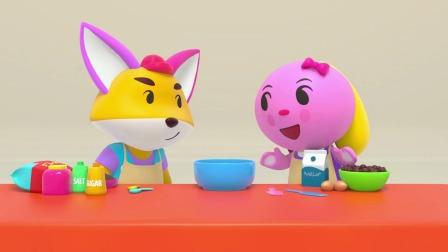 小狐狸和小河马的故事