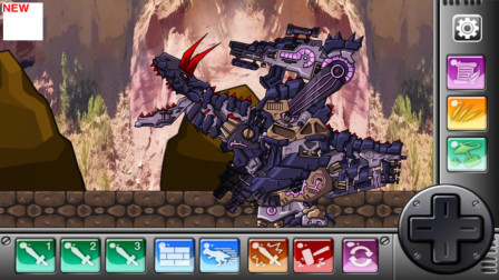 组装机械 牛龙 游戏解说 第7章 黑暗霸王龙