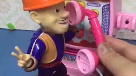 亲子有趣幼教玩具:光头强怎么哭了