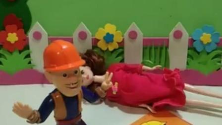 亲子有趣幼教玩具:光头强找不到医生了!