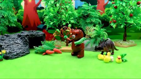 乔治理查德的玩具都跑到捣蛋熊家里了,大家以为捣蛋熊又偷东西了(2)