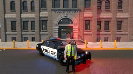 Flashing Lights:体验更新后的新地图,终于能换个地方执法了