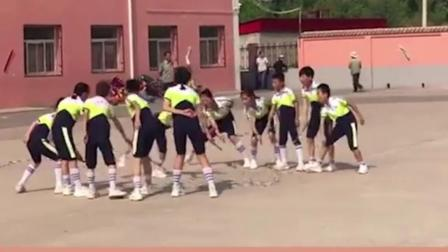 中国少年的速度简直就是电动小马达一样