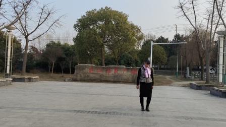 何兵姐姐广场舞两个世界🌹🌹🌸🌸