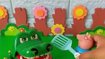 小猪要被鳄鱼吃了乐园
