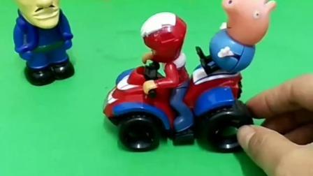 带乔治去找爸爸妈妈#智力玩具