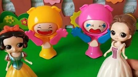 白雪公主和贝尔公主 #公主玩具公主玩具