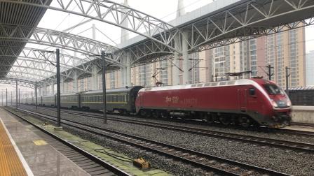 武南HXD1D牵引Z334次通过襄州站
