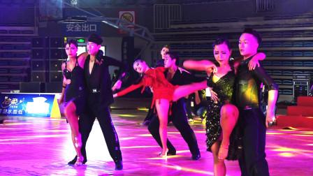 湖南2020中顺洁柔杯国际标准舞公开赛,专业院校组决赛