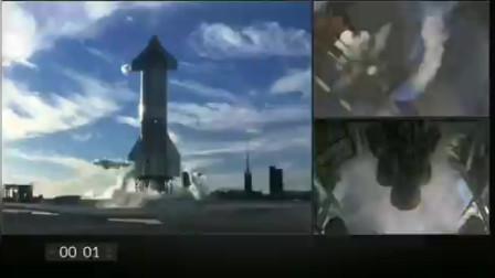 Spacex星舰SN8飞行12.5公里测试,倒计时最后一秒终止,每日宇航员崩溃咆哮