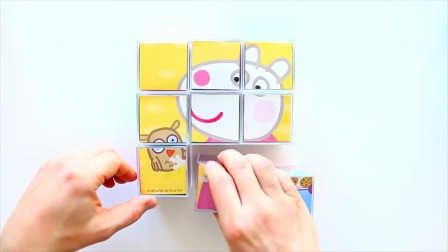 九宫格拼图 小猪佩奇的拼图游戏