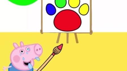 乔治在画画呢,怎么好好哭起来了