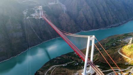 云南再创世界第一,丽江金安金沙江大桥,建桥钢丝足以绕地球两圈