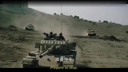 无援,三辆坦克阻击敌坦克团,高超的战术配合点名敌坦克,精彩