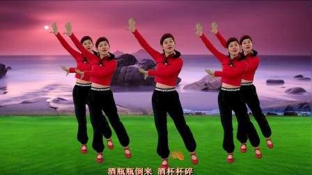 火爆全网陕西民歌《我的那个亲亲呀》简单32步跳出了民歌风情
