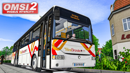 巴士模拟2 伊萨城际客车 #1:驾驶伊萨Recreo于校车线   OMSI 2 AHL 2020 Modern Schulbus(1/2)