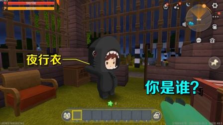 迷你世界:盗窃贼被我抓住了,可他穿着夜行衣,我看不清楚他是谁