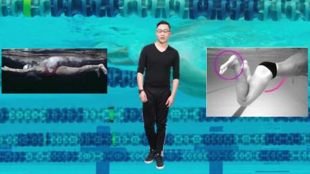 中游体育:蛙泳基础知识 蹬夹腿勾不住脚怎么办