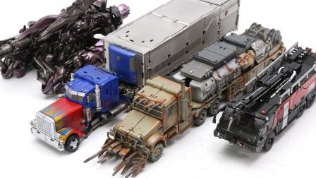 变形金刚电影工作室系列  擎天柱威震天前哨冲击波汽车机器人玩具