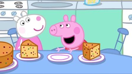 小猪佩奇:佩奇有了假想朋友,它叫里奥,好神奇的朋友啊