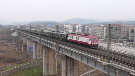 京广线:武南SS9G牵引K1197次通过