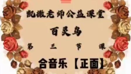 老师新疆舞 百灵鸟 正反面教学