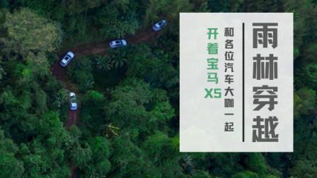 和各位汽车大咖一起,开着宝马X5来一次雨林大穿越