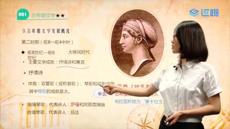 自考00540外国文学史-课程导读【学程教育出品】