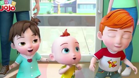 超级宝贝JOJO:全家出动换发型啦,神奇的理发店记