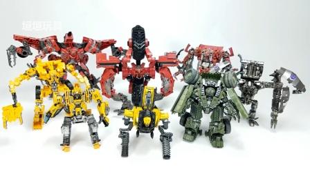 变形金刚电影 2 腐烂工作室系列组合器的构造8 车辆机器人玩具