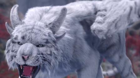 四大神兽白虎,是神话中的杀伐之神,曾降世为唐初大将