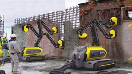 搬砖工人也要失业了吗?外国发明砌墙机,比人工做得更好!